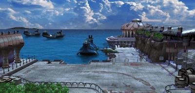 Balamb Port