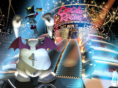 Cait Sith at Gold Saucer