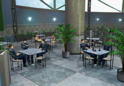 Balamb Garden cafeteria