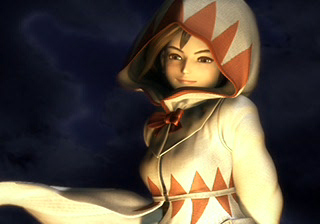 Garnet as a white mage