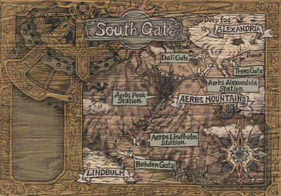 South Gate map