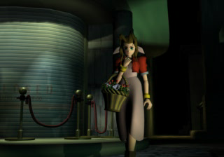 Aeris Gainsborough in Midgar
