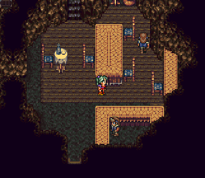 Terra at the Returner hideout