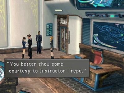 Instructor Trepe