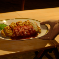 Breaded Cutlet with Tomato